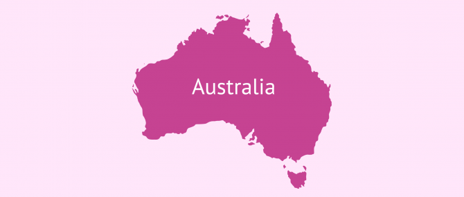 Gestación subrogada en Australia