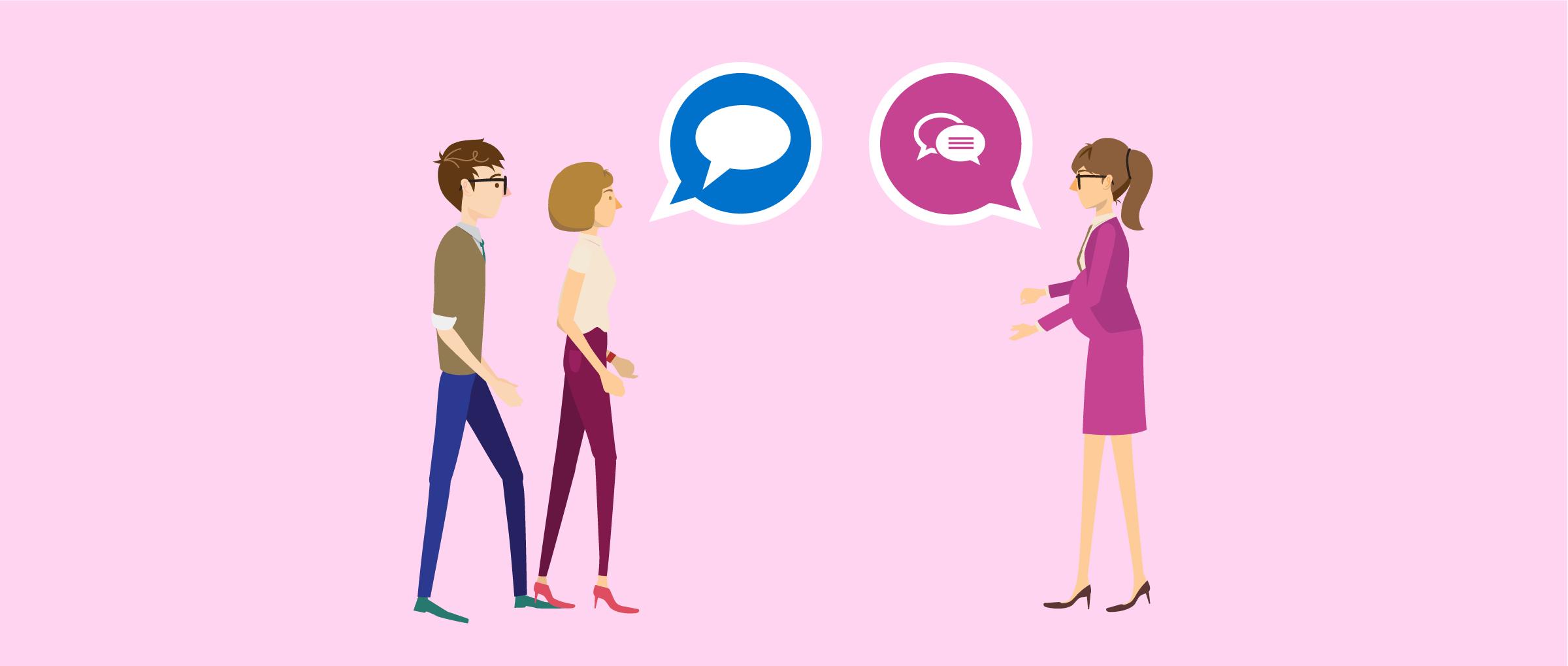 Relación entre los futuros padres y la gestante subrogada