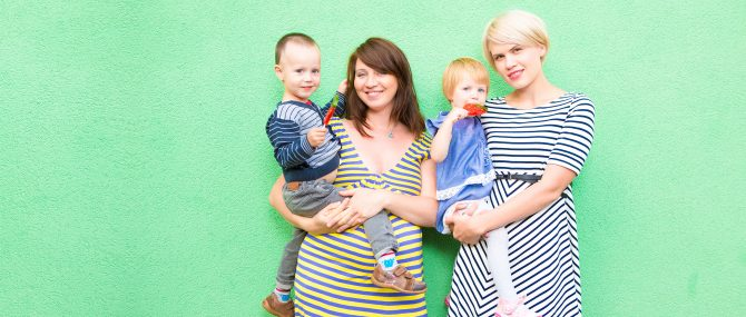 Maternidad en parejas lesbianas