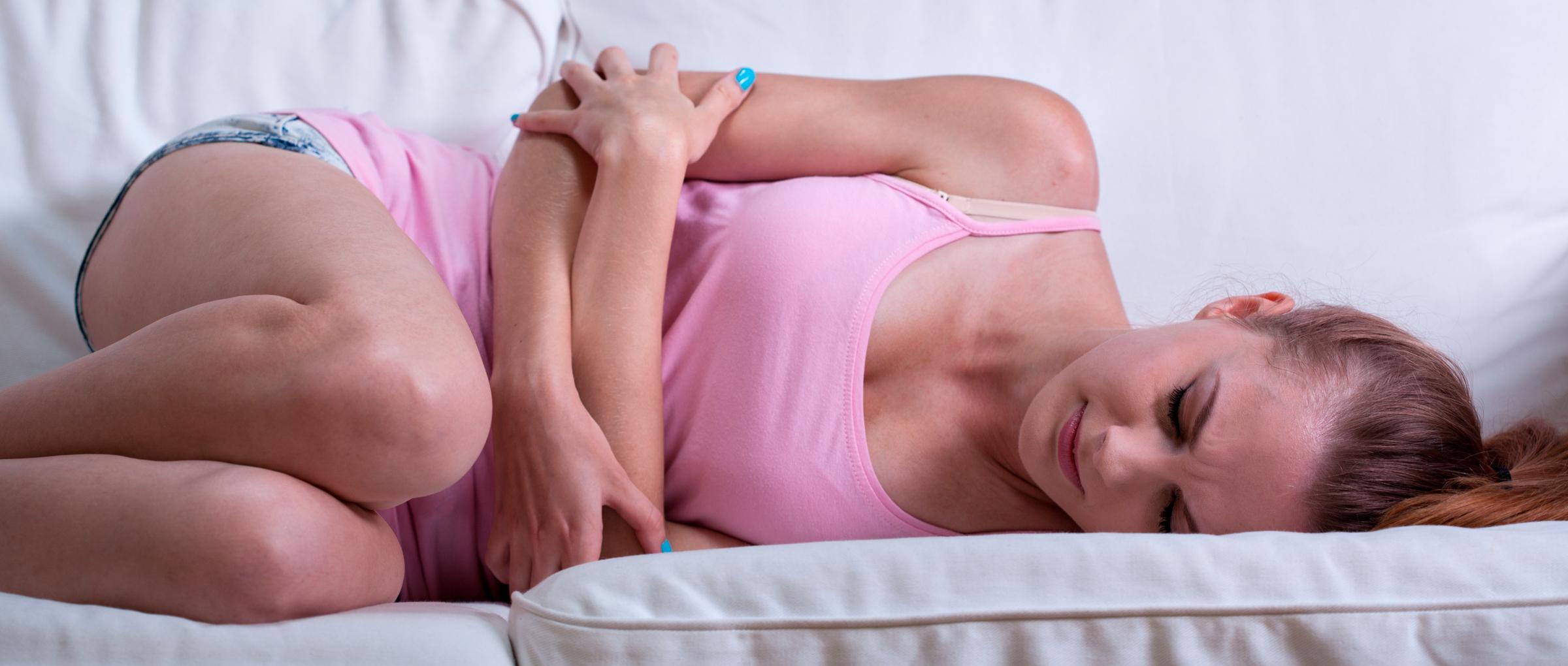 Dolor durante la menstruación por endometriosis