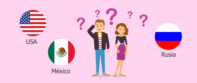 La gestación subrogada en EE.UU., México y Rusia