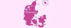 Localización Dinamarca