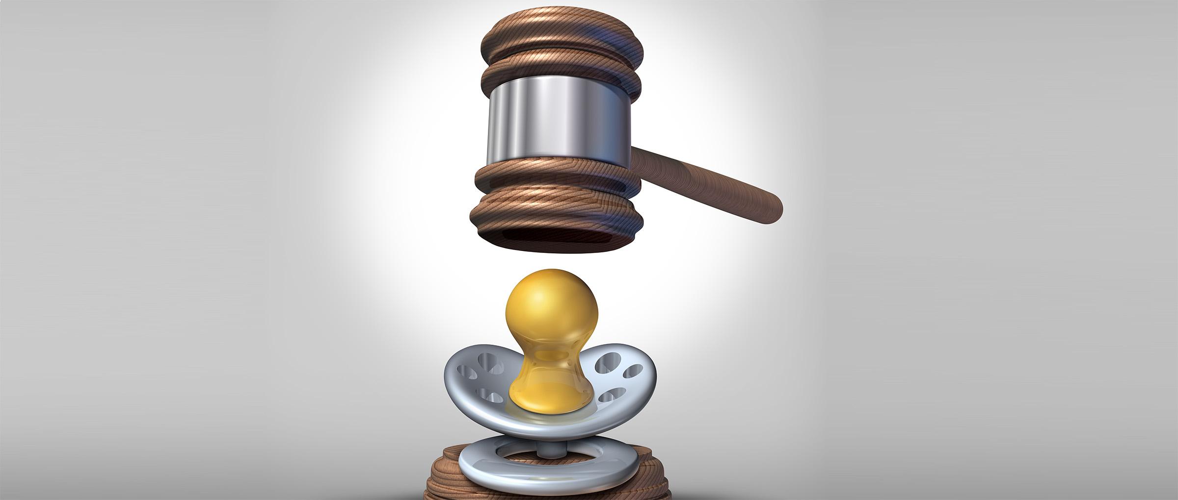 Divorcio de los padres de intención durante la gestación subrogada