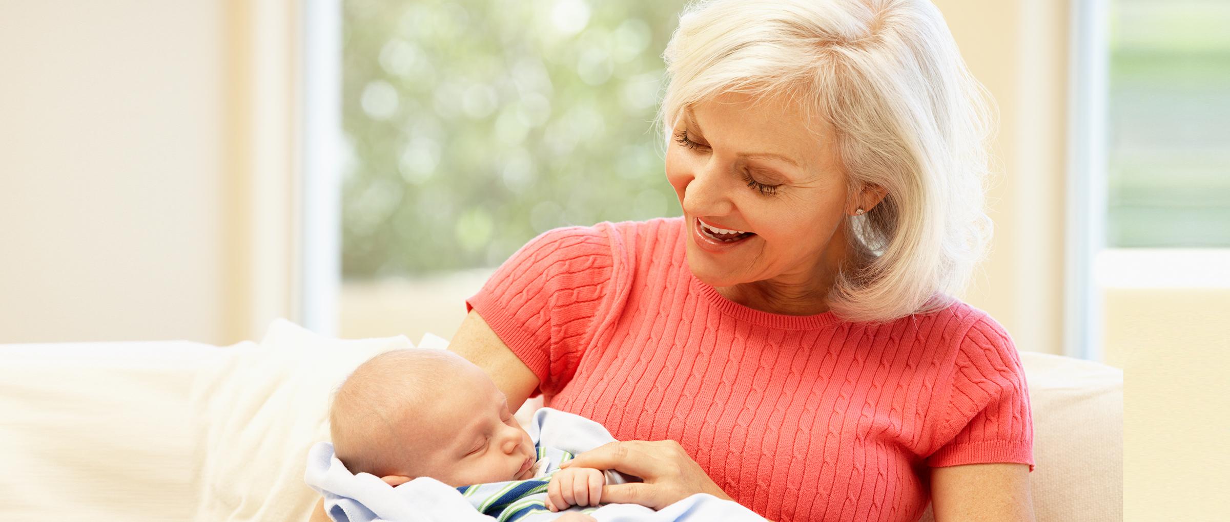 Abuela y gestante