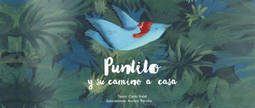 """Libro infantil """"Puntito y su camino a casa"""""""