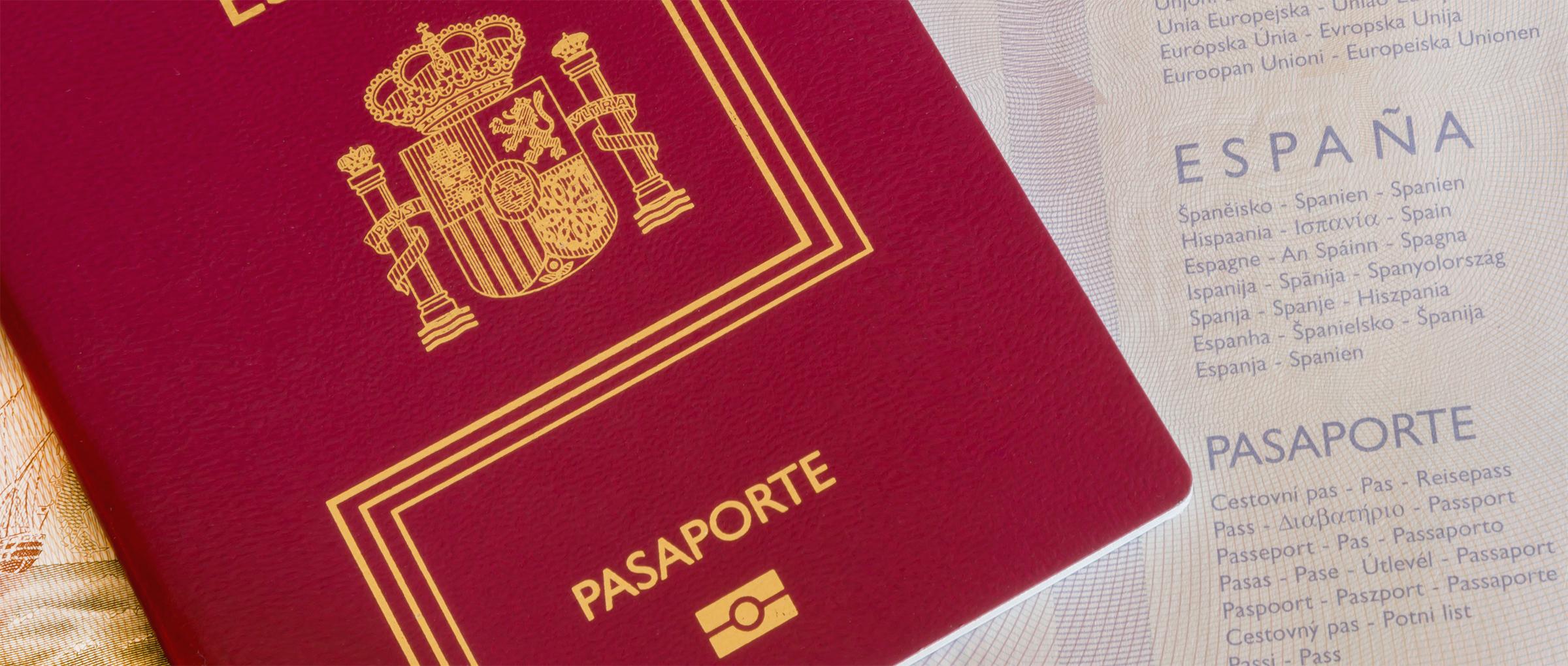 Obtener el pasaporte español del menor