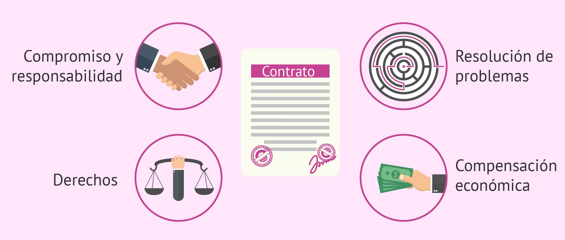 Condiciones establecidas en un contrato de gestación subrogada