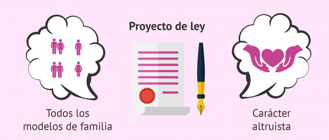 Características del proyecto de ley de gestación subrogada en Chile