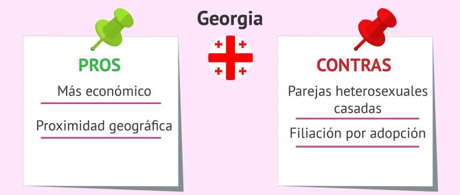 Beneficios y problemas de la gestación subrogada en Georgia