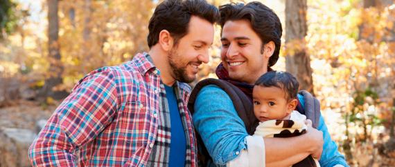 Imagen: Adopción de niños por parejas gay